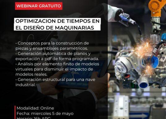 Optimización de Tiempos en el Diseño de Máquinas.